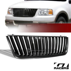 For 03 06 Ford Expedition Black Vertical Sport Front Hood Bumper Grill Grille