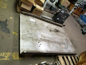 Loading Dock Plate For Towmotor Or Loading