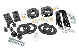 Rough Country 3 Lift Leveling Kit Fits 2007 2020 Toyota Tundra Suspension