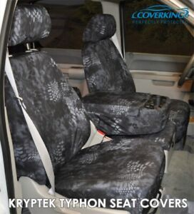 Coverking Kryptek Typhon Camo Cordura Ballistic Seat Covers For Toyota Tacoma