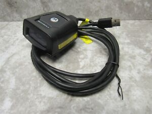 Symbol Motorola Ds457 hd 2d Fixed Usb Barcode Scanner Ds457 hd20009 Tested