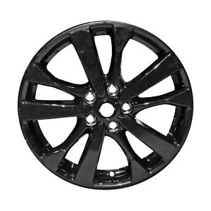 Reconditioned 18 Gloss Black Alloy Wheel Fits 2016 2017 Nissan Altima 560 62720