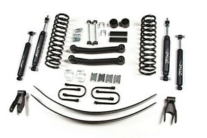 Zone Offroad 4 5 Suspension Lift Kit For Jeep Xj Cherokee 84 01 Chrys 8 25