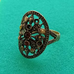 Wonderful Ancient Medieval Bronze Ring Artifact Museum Quality