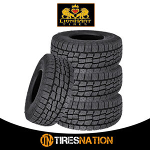 4 New Lionhart Lionclaw Atx2 Lt265 70r16 121 118s All Season Performance Tires