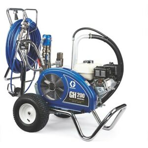 Graco 24w927 Gh 200 Convertible Procontractor Series Gas Hydraulic Airless