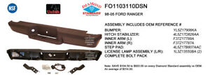 Cpp Nsf Fo1103110 Rear Bumper Assembly For 93 04 Ford Ranger