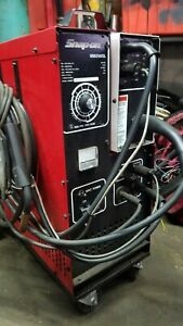 Used Snap on Mig Welder Mm 250 Sl W Cords Mm250sl