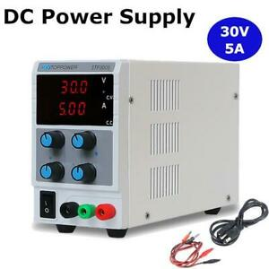 30v 5a Dc Power Supply Adjustable Dual Digital Variable Precision Lab Grade