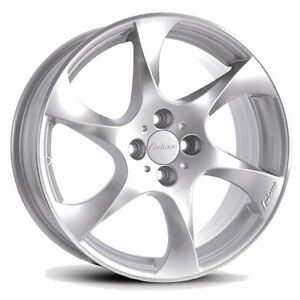 Lorinser Speedy Alloy Wheels Summer Tyre Smart Fortwo Forfour 453 Silver Conti