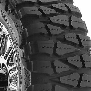 4 New 35x12 50r17lt Nitto Mud Grappler 125p 35 12 5 17 Mud Terrain Tires