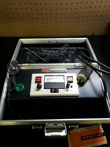 Vintage Federal Pacific Ground Integrity Ohmmeter Black Case
