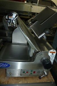 Globe Meat Slicer H duty Manual Sharpenr 115 V S s900 Items On E Bay