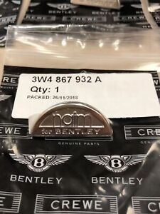 Bentley Continental Flying Spur Continental Gt Gtc Loudspeaker Grille Emblem