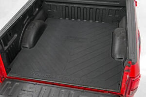Rough Country Rubber Bed Mat fits 2003 2018 Dodge Ram 6 4 Ft Bed Liner