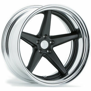 20x8 5 Gray Wheel Vossen Vws3 5x112 38