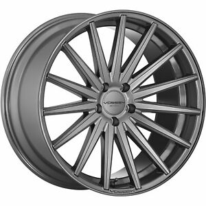 20x10 Gray Wheel Vossen Vfs2 5x4 5 45