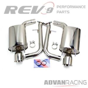 For Is250 is350 14 16 Cat back Sport Exhaust Kit Stainless Steel 4 Double Wa