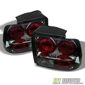 Smoked 99 04 Ford Mustang Altezza Rear Tail Lights Brake Lamps Left right Sets