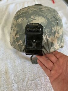 Gentex US Army Advanced Combat Helmet Medium With PadsChin StrapsCover M ACH