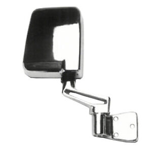 Cpp Chrome Ch1321189 Right Mirror For 1987 1995 Jeep Wrangler