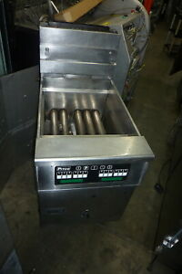 Pitco 75 Lbs Nat Gas Fryer Solid State Unit S steel Unit 900 More Items