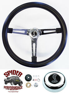 1965 1969 Mustang Steering Wheel Cobra 15 Muscle Car Chrome