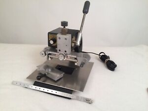 Veach Stamping Machine Gold Foil Press Working Near Mint