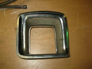 1969 Plymouth Gtx Driver Side Taillight Chrome Bezel Oem 1 Year Only 69