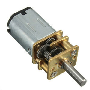 Dc 6v Small Micro Speed Reduction Geared Motor Box Electric Motor 50 300rpm