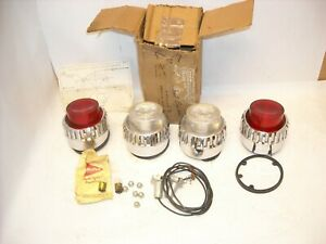 Mopar Nos 1962 Plymouth Sport Fury Fury Rear Tail Lamp Reverse Lamp Lights