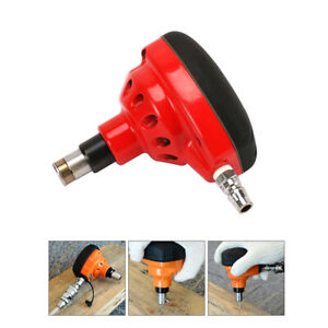 Air Palm Nailer Magnetic Tip Nail Gun Hammer Pneumatic Tool For Woodworking Red