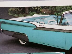 1959 Ford Stainless Steel Fender Skirts New Wow