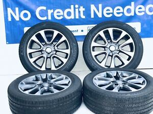 20 Inch Oem Jeep Grand Cherokee 9168 Wheels And Tires Package Great Shape Set