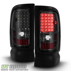 Smoke 1994 2001 Dodge Ram 1500 2500 3500 Pickup Led Tail Lights Lamps Left right