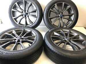 20 Ford Explorer Factory Oem Rims Wheels Tires Gloss Grey 2555020 Set 4 10113