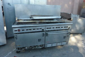 Wolf Double Convection Ovens And 10 Burners Stove complete s s 900 More Items