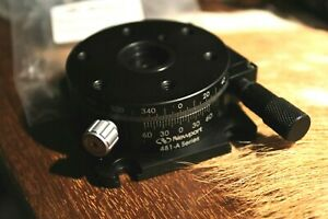 Newport 481 a Series Rotation Stage With Micrometer 360 Rotary Load Cap 178n