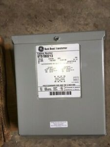 New Ge 9t51b0213 Buck Boost Transformer 240 480 Volt Nema 3r Enclosed 1 Phase