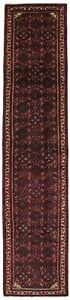 Oversized Tribal Hossainabad Runner 3x14 Thick Pile Rug Oriental Wool Carpet