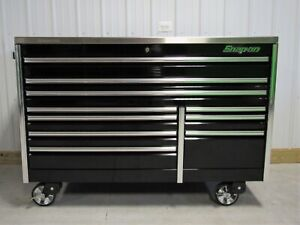 Snap On 68 Black Epiq Tool Box Stainless Work Top