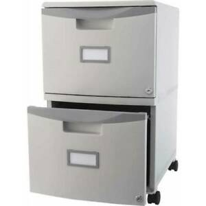 Gyay Mobile Legal Letter File Cabinet 2 drawer Office Storage W Lock