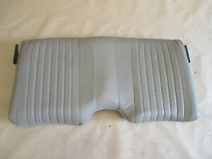 96 02 Firebird Trans Am Tan Neutral Leather Rear Upper Seat Back 0615 87
