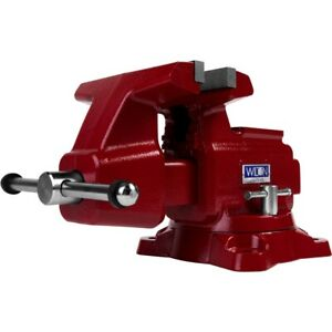 Wilton 28816 Utilty Hd Bench Vise 8 Jaw Width 8 1 2 Jaw Opening 360 Swivel