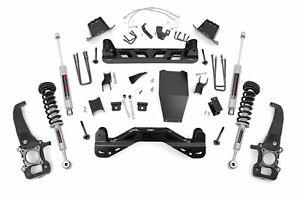 Rough Country 6 Lift Kit Withn3 Loaded Struts For 2004 2008 F150 4wd 54623