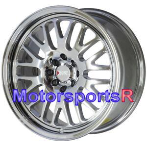 Xxr 531 17 17x8 Et 25 Platinum Rims Wheels 4x100 94 97 98 01 Acura Integra Gsr