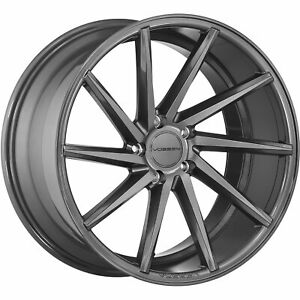 4 20x10 5 Gray Wheel Vossen Cvt 5x120 27
