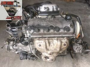92 To 95 Honda Civic 1 5l Dual Stage Vtec Engine 5 Speed S40 Trans Jdm D15b