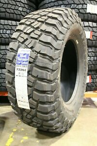 2 New 35x12 50 18 Bf Goodrich Mud Terrain T A Km3 123q 12 50r R18 Tires