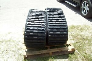 Cat 276b 277b Replacement Tracks factory Tread Design 457 X 56 Set Of Two